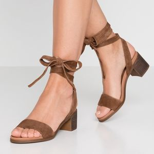 Steve Madden | Adrianne Suede Lace Up Heels